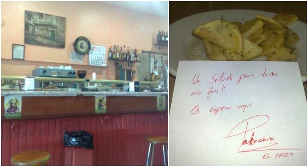 las patatas de patro bares low cost en Madrid