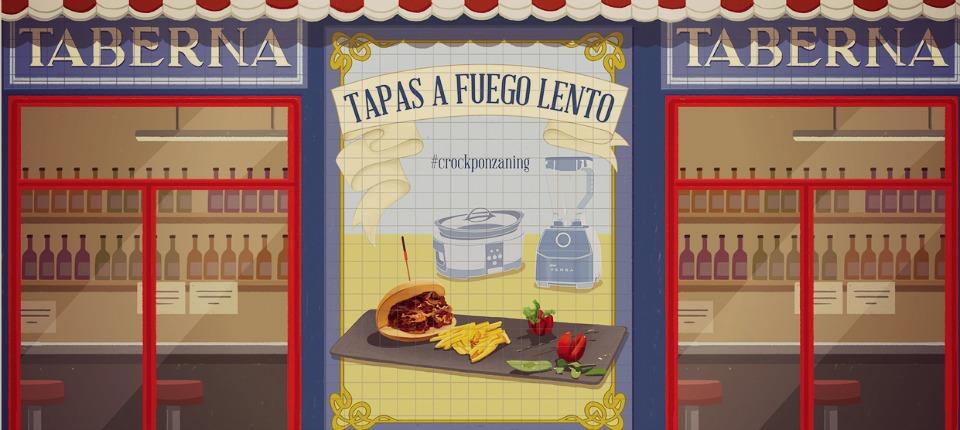 De tapas por Ponzano en su I Ruta gastronómica. ¿Preparado?