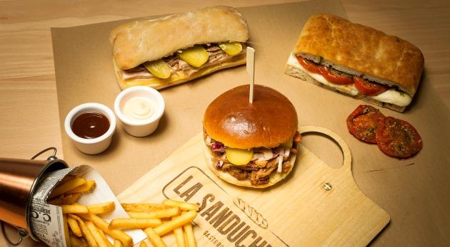 sandwiches de La Sanducherie