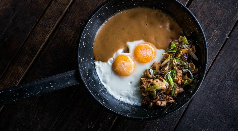 huevos de Comala