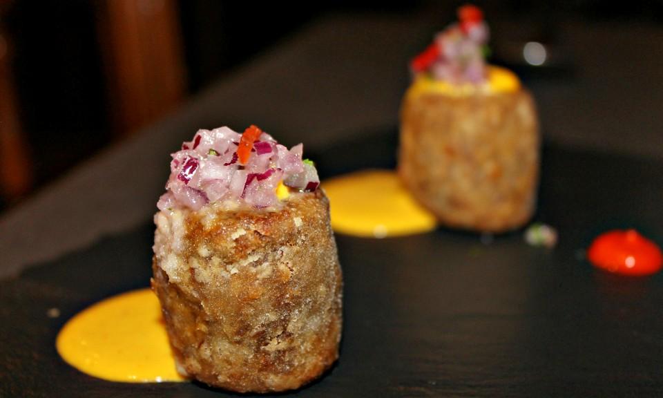 croquetas de arroz de pato en Callao24