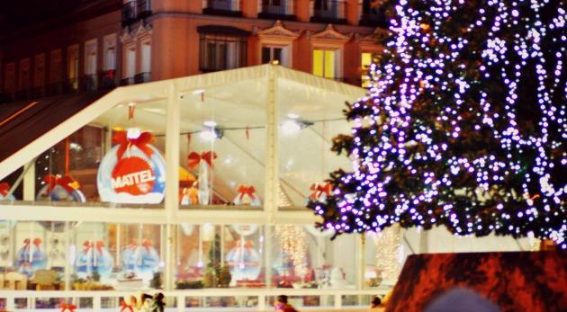 mercados de Navidad plaza de callao