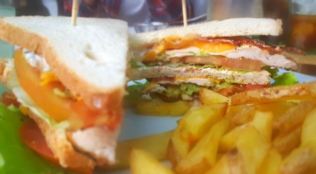 foodtruck sandwich