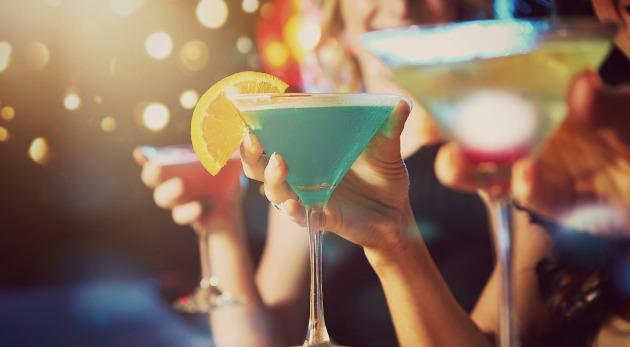 cocteles seagrams gin