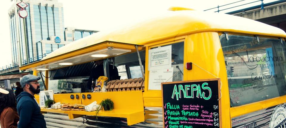22 food trucks despiden la primavera en Nuevos Ministerios