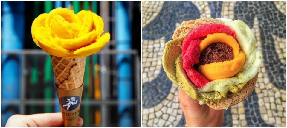 helados originales en Madrid