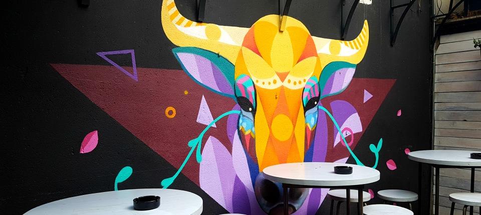 Street Art Food Festival en el Mercado de San Ildefonso