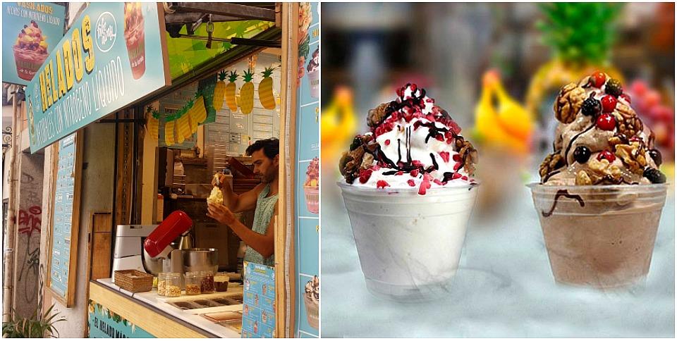 helados de La Huerta de Almeria