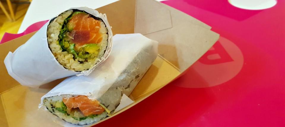 la fiebre del sushi burrito
