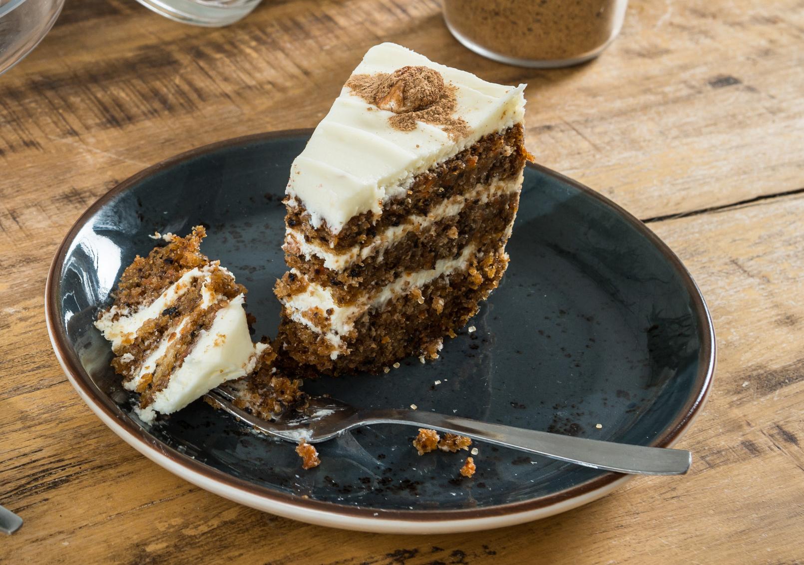 CARROT CAKE DE LEVADURAMADRE