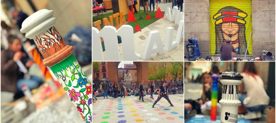 Pinta Malasaña vuelve a inundar el barrio de arte y color
