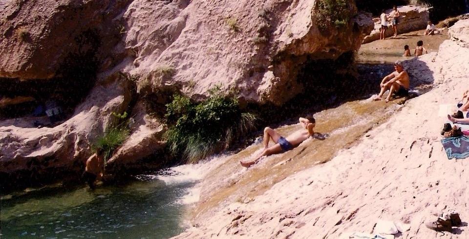 piscinas naturales las Chorreras