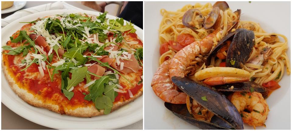 comer en L'Arcada Pizzeria
