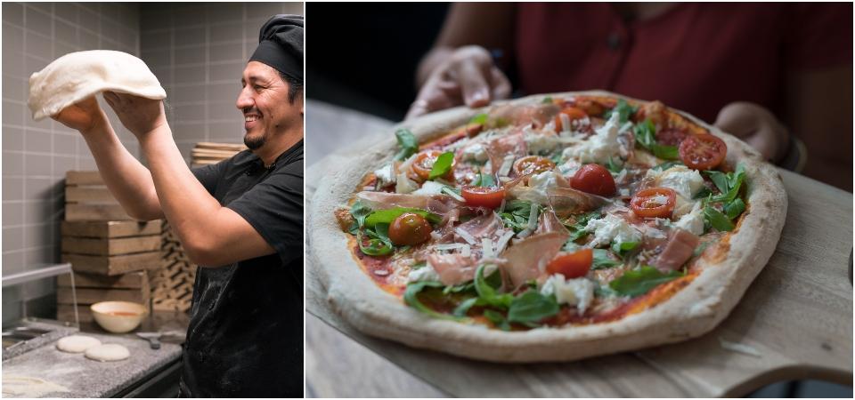pizzas en restaurante pizza cartel